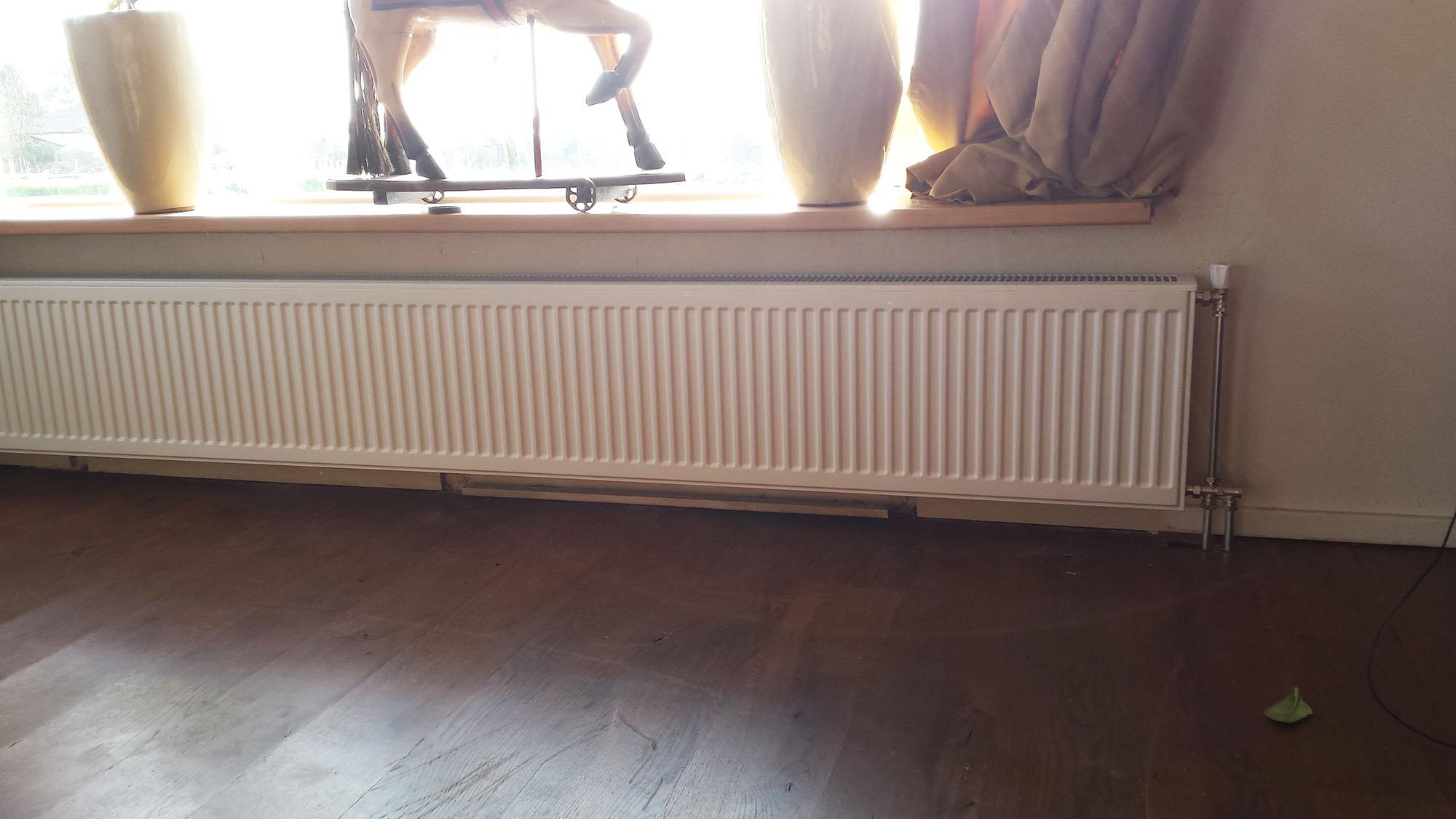 radiator-afgemonteerd